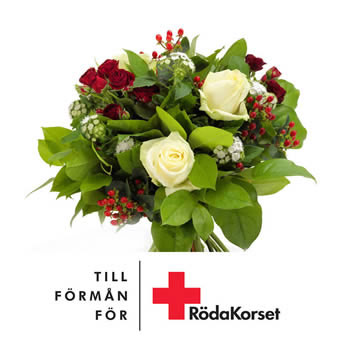 Red Cross Bouquet