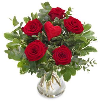 Beställ blommor