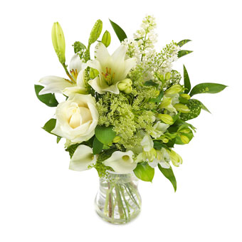Florist's Design - White bouquet
