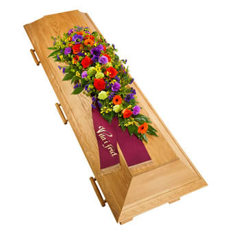 Coffin decoration