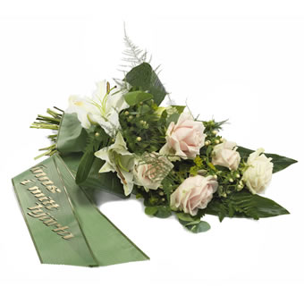 Thankfulness funeral bouquet