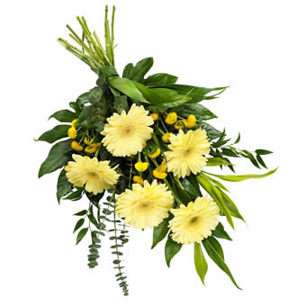 Funeral bouquet in Soft Colours