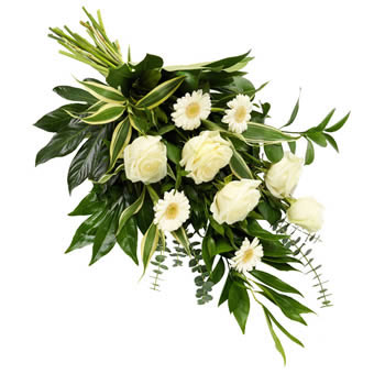 Funeral Sheaf in White