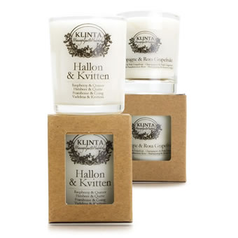 Klinta scented candles