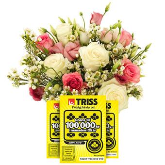 skicka blommor och choklad billigt