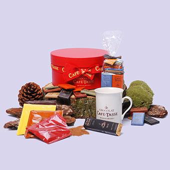 Belgisk lyxchoklad
