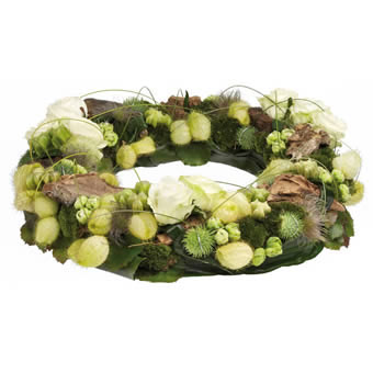 Glade funeral wreath