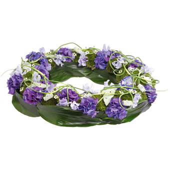Heartfelt funeral wreath