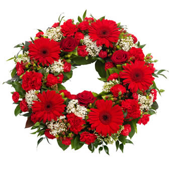 Florist Design - Funeral Wreath