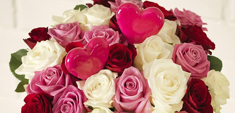 Most popular bouquets for Valentines day