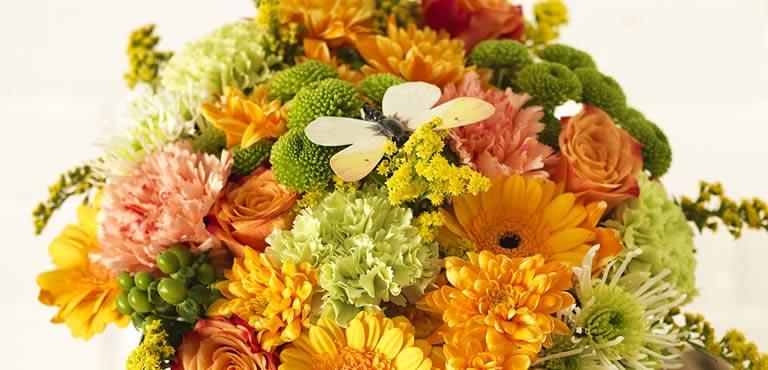 Säg förlåt med blommor