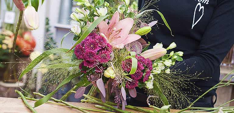 Skicka blommor till sjukhus