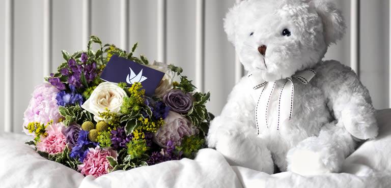 Blommor till nyfödd