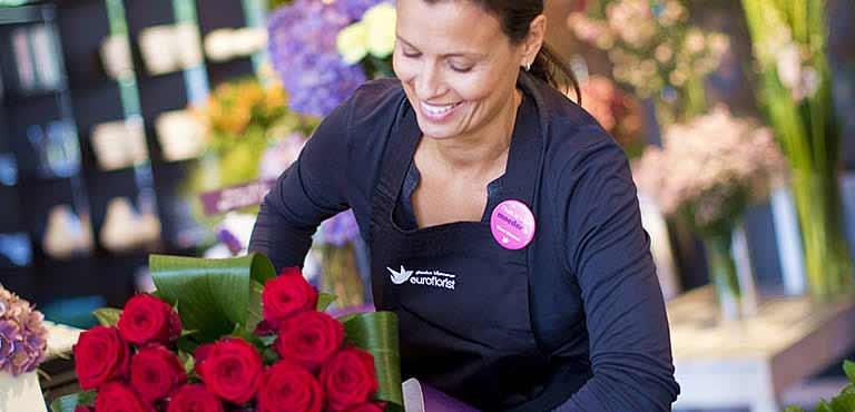 Hitta en florist nära dig