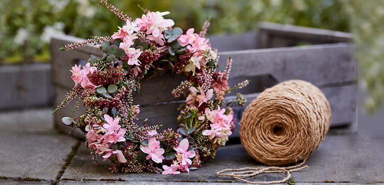 Blombud Alla helgons dag
